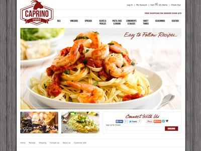 Caprino Foods - Specialty Food Store & Recipe Blog