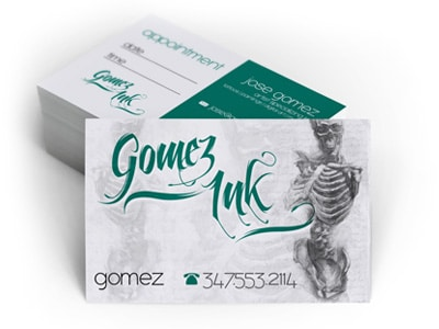 GomezInk Business Card Design