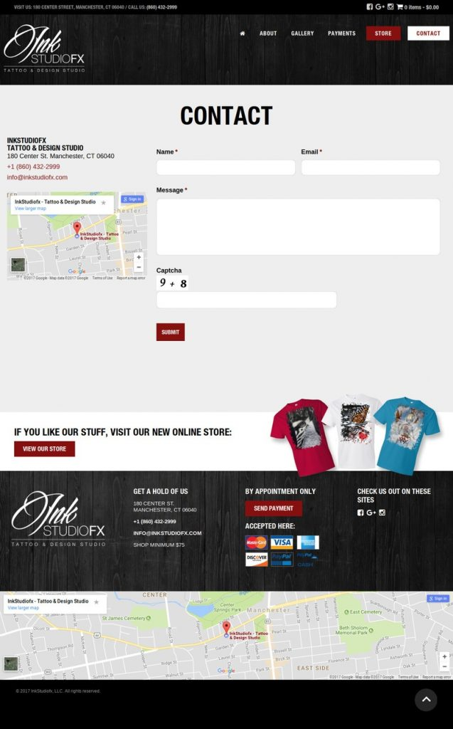 InkStudiofx Wordpress Website Design - KStudioFX