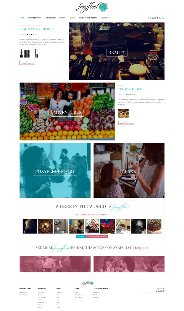 FoxyFleet Wordpress Website Design - KStudioFX