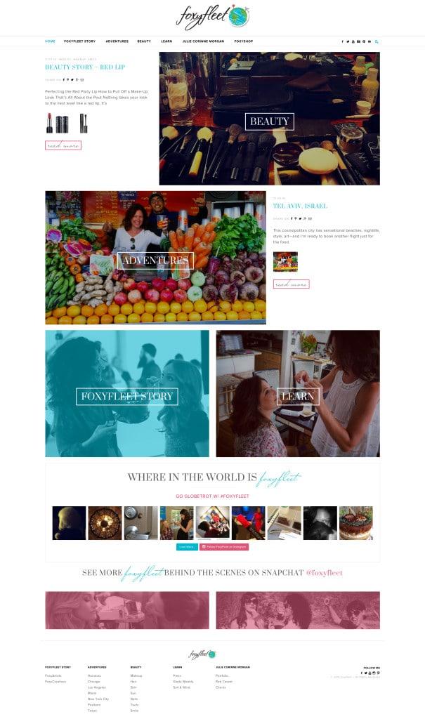 FoxyFleet Wordpress Website Design - KStudioFX