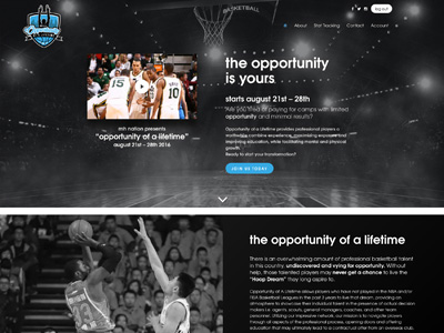 Opportunity of a Lifetime - Wordpress Website Design - KStudioFX